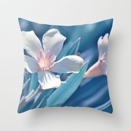 Oleander 141 Throw Pillow