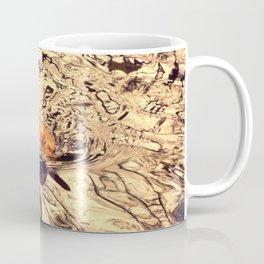 Baby chick on the pond Coffee Mug