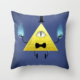 Evil Dorito Throw Pillow