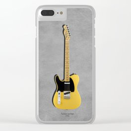 The 52 Telecaster Clear iPhone Case
