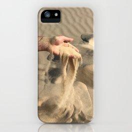 Hand & Sand iPhone Case