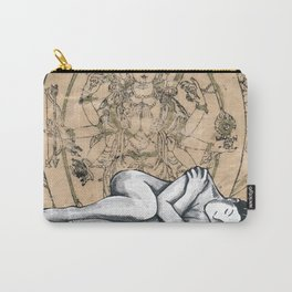 Gold Girl Carry-All Pouch