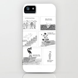 An Unfortunate Outing - Frames iPhone Case