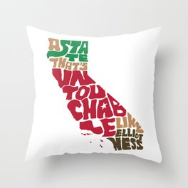 The Untouchable State Throw Pillow