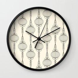 Art Deco No. 50 . Christmas decorations . Wall Clock