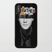the godfather iPhone & iPod Cases featuring Godfather Mix 2 black by Marko Köppe