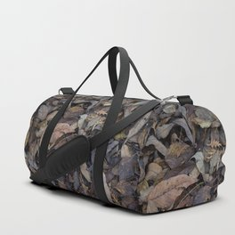 Autumn Leaves in Deep Forest Duffle Bag