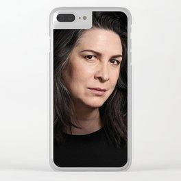 Pamela Rabe / Joan Ferguson Clear iPhone Case