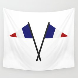 flag of france Wall Tapestry