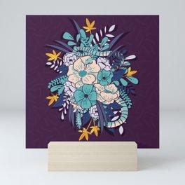 Jungle Bouquet 002 Mini Art Print