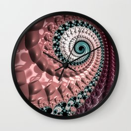 Lumpy Snail Wall Clock