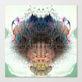 Somatic Particles Canvas Print