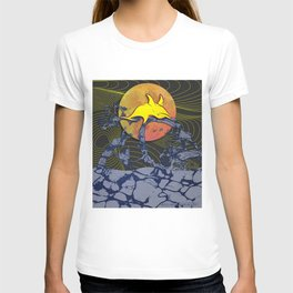 Lánzate (La Noche de San Juan) Black T-shirt
