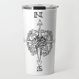 Compass Rose Knot Travel Mug