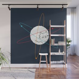 Cat-ion Wall Mural