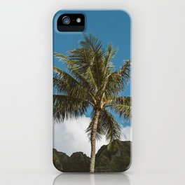 Hawaiian Palm iPhone Case