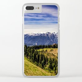 Hurricane Hill View Clear iPhone Case