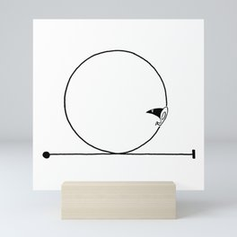 Looping Mini Art Print