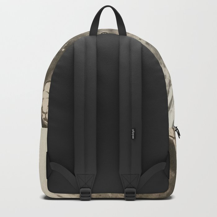 MoonSea EcoSystem Black and White Backpack