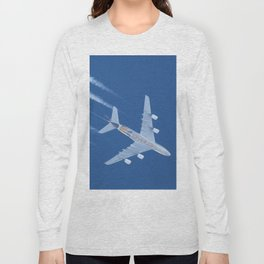 Airbus A380 Etihad Airways, 12200m Long Sleeve T-shirt