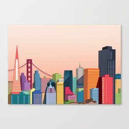 City San Francisco Canvas Print