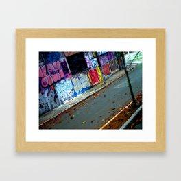 Sunday Drive Framed Art Print