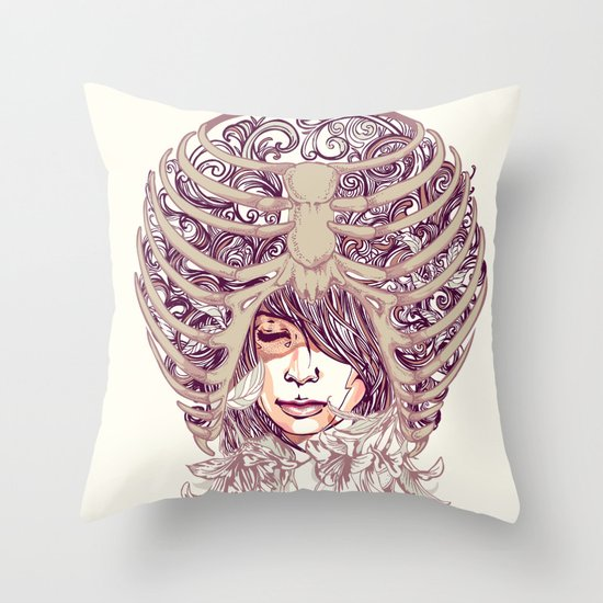 Your Bone Throw Pillow