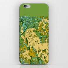 Green Town iPhone & iPod Skin