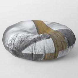 Llanberis Sword Snowdonia Floor Pillow