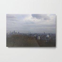 View of London from Hampstead Heath Metal Print