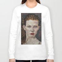poker Long Sleeve T-shirts featuring Poker face by Charles Ellison