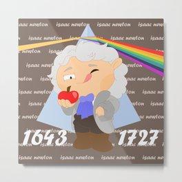 Isaac Newton Metal Print