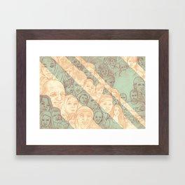All the Nations Framed Art Print