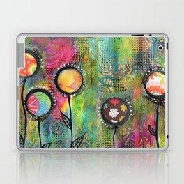 """Bloom""   Original painting by Mimi Bondi Laptop & iPad Skin"