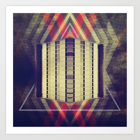 Argyle Turnstile Art Print