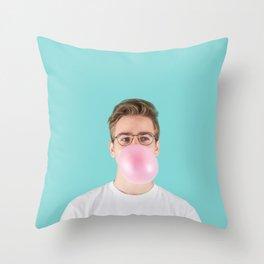 Hubba Bubba Throw Pillow