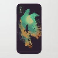 budi iPhone & iPod Cases featuring Leap of Faith by Picomodi