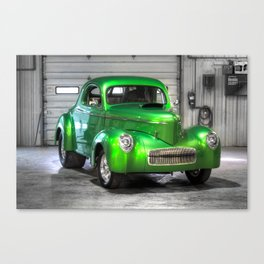 The Green Machine Canvas Print