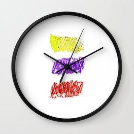 Flag of Colombia-Colombian,Bogota,Medellin,Marquez,america,south america,tropical,latine america Wall Clock