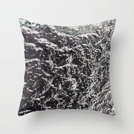 Ice IV Throw Pillow
