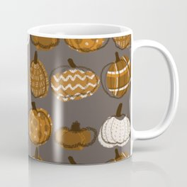 Pumpkin Party in Nougat Coffee Mug