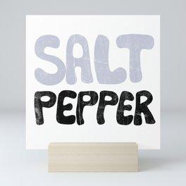 Salt Pepper Mini Art Print