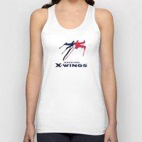nfl Tank Tops featuring Houston X-wings - NFL by Steven Klock