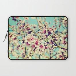 Nectarine Blossoms Laptop Sleeve
