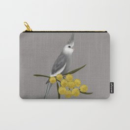 White Faced Cockatiel Carry-All Pouch