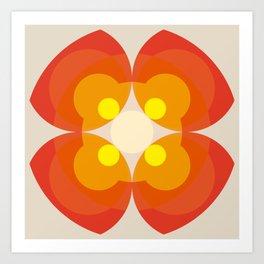 Princess Blosom  - Colorful Abstract Art Kunstdrucke