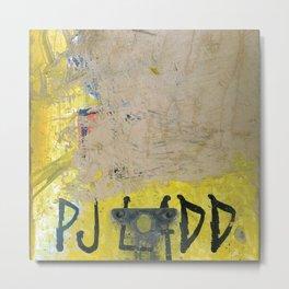 PJ Ladd, Flip, Stardust, 2002 Metal Print