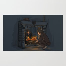 The Witch in the Fireplace Rug