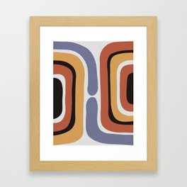 Reverse Shapes II Framed Art Print