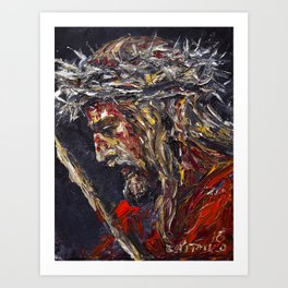 Blood of Christ, Ecce Homo Art Print